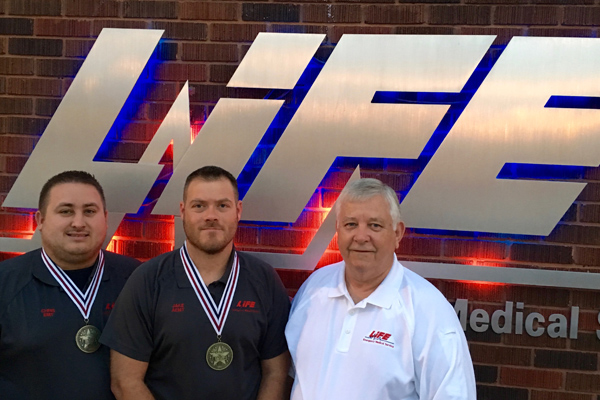 WINNING: LIFE EMS EMPLOYEES BRING HOME NATIONAL GOLD